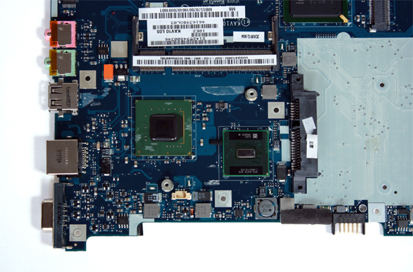 Piattaforma hardware: chipset e processore Intel Atom