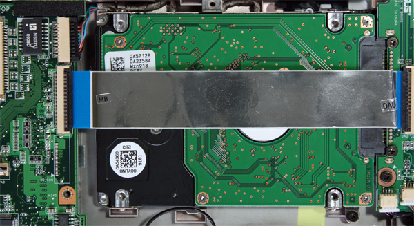 Hard disk del netbook EeePC 1101ha
