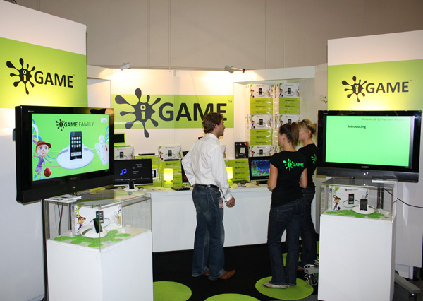 Elonex iGame stand all'IFA 2009