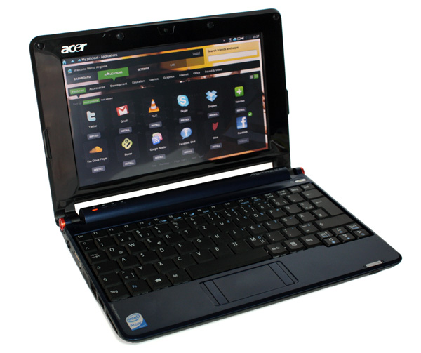 Jolicloud su Acer Aspire One