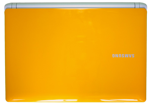 Samsung N150 Corby, cover gialla